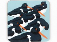 Oystercatchers Coaster - Set of 2