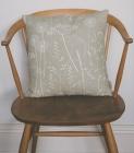 Paper Meadow cushion in kraft