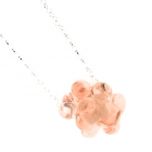 Pink Molecule Necklace