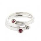 Pink Peridot Ring