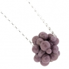 Purple Molecules Pendant