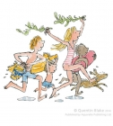 Quentin Blake - Down to the Beach