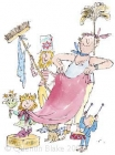 Quentin Blake - Q is for Queen