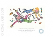 Quentin Blake - Roald Dahl -  Mr Wonka Suddenly Exploded