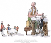 Quentin Blake - Roald Dahl - The BFG has breakfast with the Queen