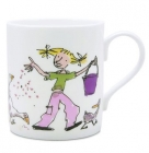 Quentin Blake Feeding the ducks Mug