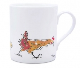 Quentin Blake Hen and Chicks Mug