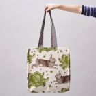 Rabbit & Cabbage Tote Bag