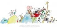 Roald Dahl 100th Anniversary Print