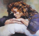 Robert Lenkiewicz - Study of Lisa