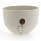 Robin Birdhouse Bowl