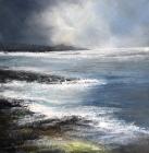 Rough Seas Towards Dunstanburgh