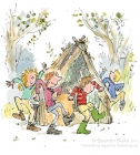 Round and Round the Den - Quentin Blake