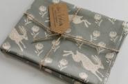 Running Hare Tea Towel