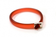 Rust Ice Hoop Bangle