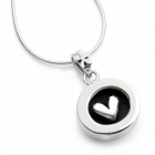 Secrets Hearts Necklace  - Round