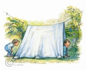 Shirley Hughes - Camping Out