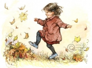 Shirley Hughes - Kicking Leaves
