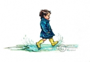Shirley Hughes - Splish, Splash, SPOSH