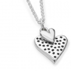 Small Dotty Hearts Necklace