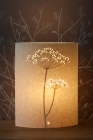 Small Oval Cow Parsley Table Lamp