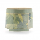 Small Oval Vessel Yellows & Greens