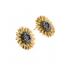 Small Sunflower Studs