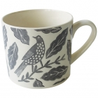 Songbird Grey Mug