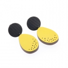 Spots and Stripes Drops - Yellow