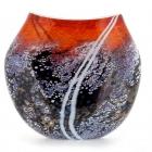 Sunset Flat Vase