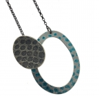 Textured Spot Necklace