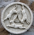 Three Hares Wall Plaque