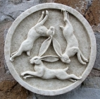 Tinners Hares Wall Plaque
