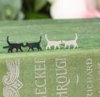 Tiny Walking Cat Studs