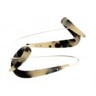 Tortoiseshell Twirl Earrings