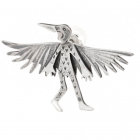 Wild Thing Raven Brooch