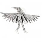 Wild Thing Raven Brooch