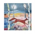 Winter Fox Card