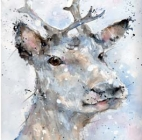 Winter Stag - Card