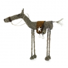 Wire knitted Horse