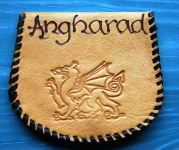 Angharad Leather Purse