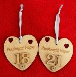 Penblwydd Hapus Heart