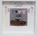 Cariad - Pink Bunting