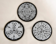 Celtic Slate Coasters
