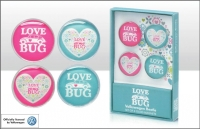 Love Bug Magnets