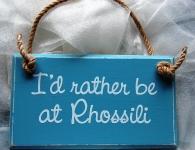 Rhossili Plaque