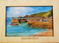 Saundersfoot Print