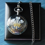 Three Feathers Pocket Watch