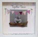 Together Forever Pink Bunting