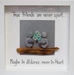 True Friends Turquoise Flowers